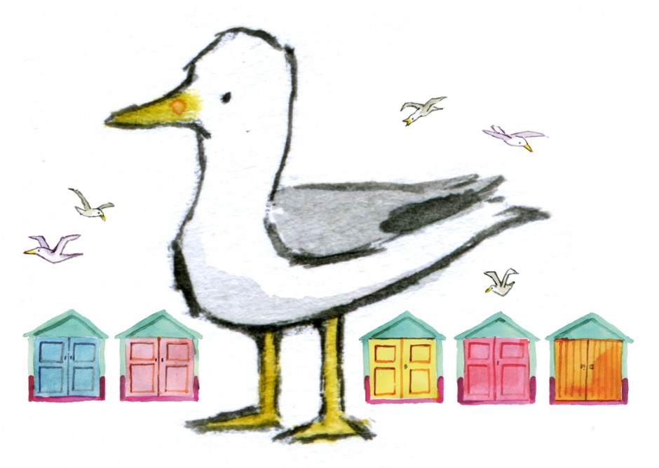 Martletts seagull