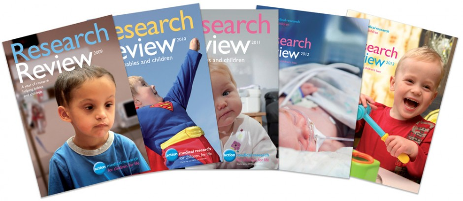 Action Medical Research Review covers