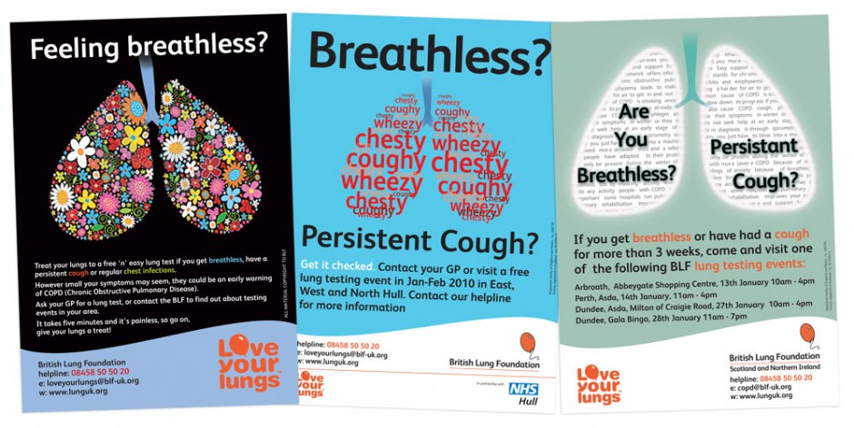BLF Feel Breathless posters