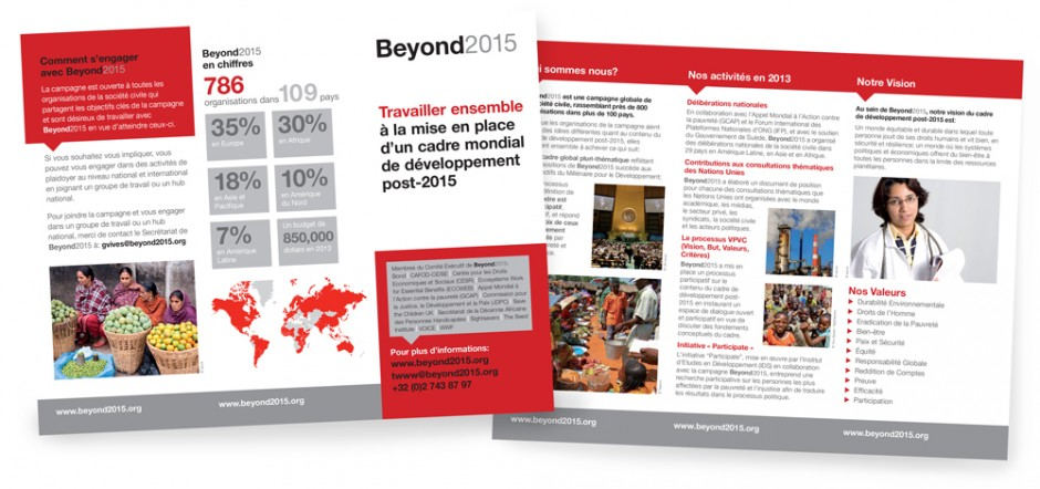 Beyond 2015 Leaflet (French)