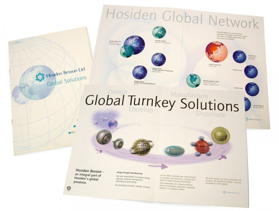 Hosiden Besson Solutions brochure