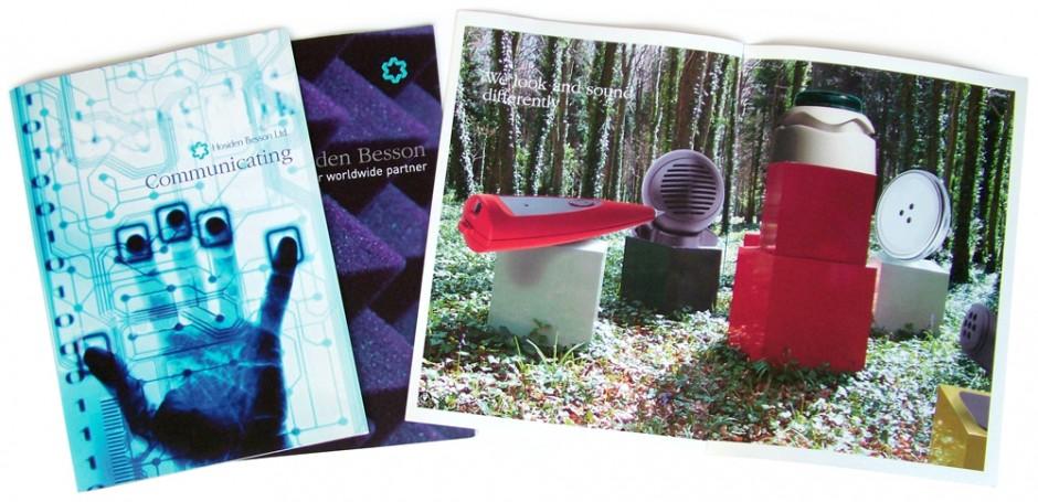 Hosiden Besson brochures