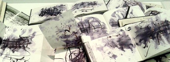 JohnVirtue Seascapes sketchbooks