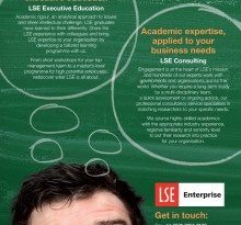 LSE Connect advert