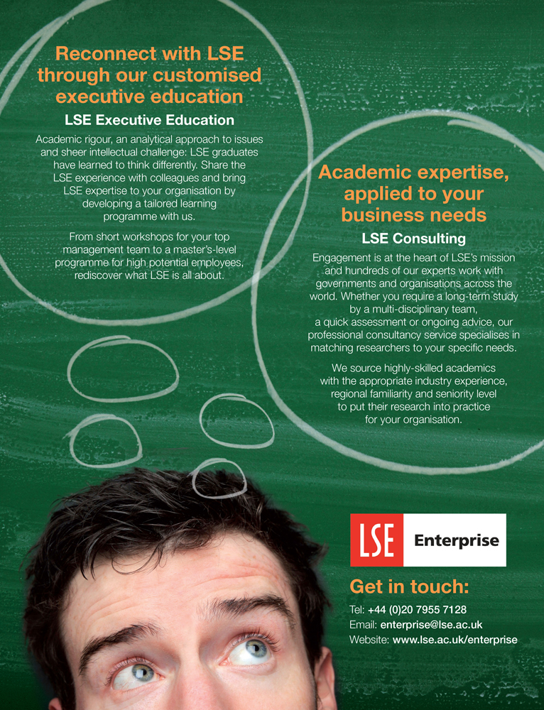 LSE Connect advert