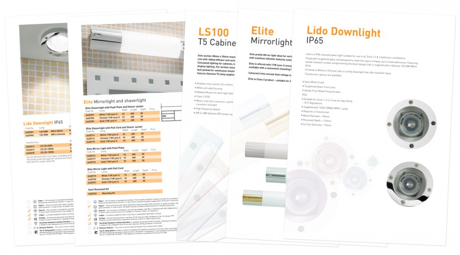 Linolite Sylvania data sheets