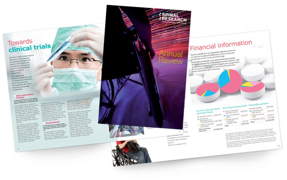 Spinal Research Annual Review2011-12