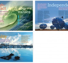 Sussex Energy Group brochure spreads