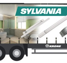 Sylvania Lighting Truck-side idea