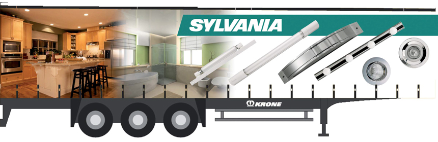 Sylvania Lighting Truck-side idea