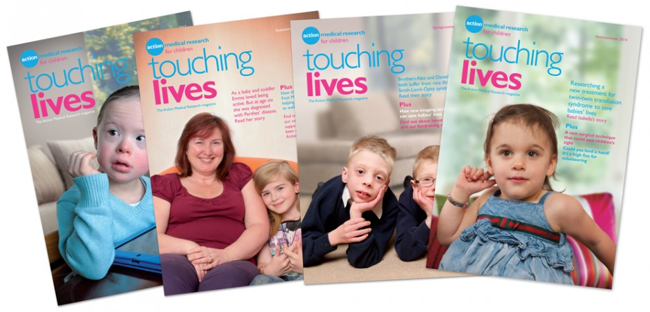 Touching Lives magazine covers