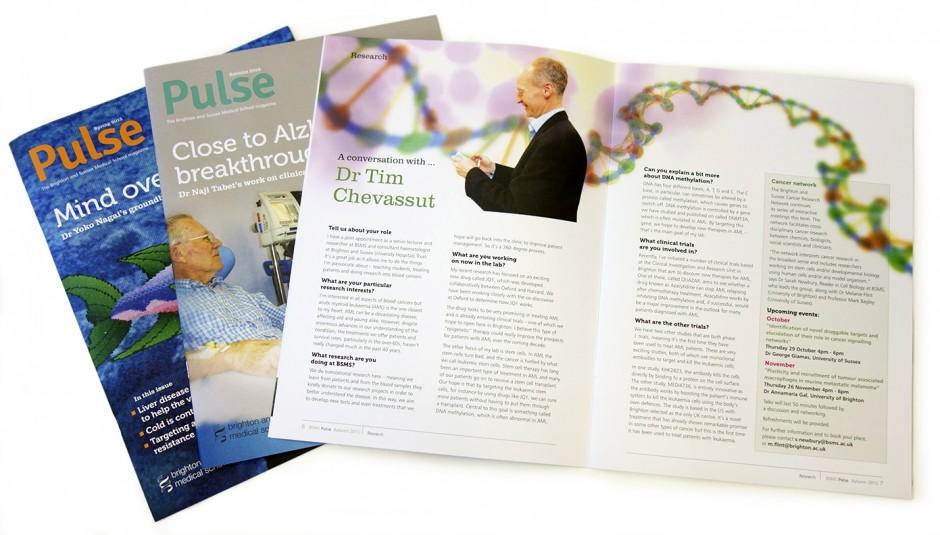 Pulse magazine x2